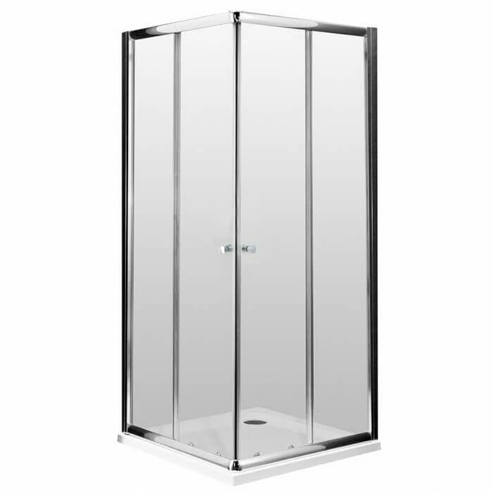 Cabina box doccia angolare scorrevole