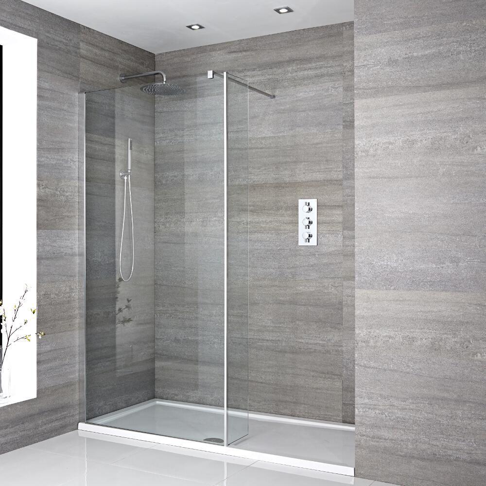 Pavimenti In Vetro Per Esterni la guida essenziale per le docce walk-in e le docce a filo