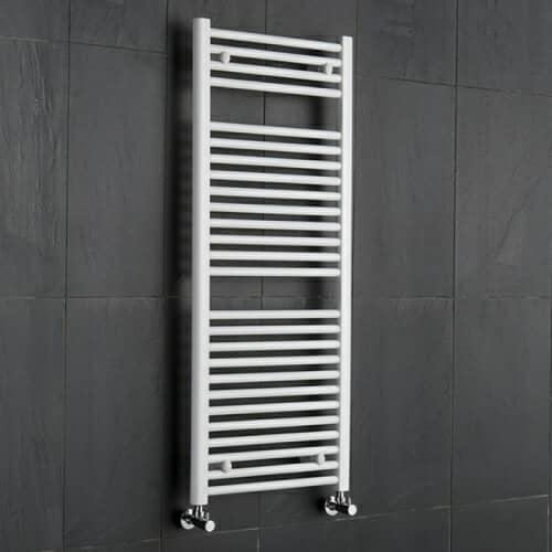 Radiatore Scaldasalviette Piatto - Bianco - 1200mm x 500mm x 30mm - 686 Watt - Etna