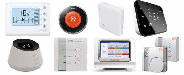 tutti i termostati intelligenti disponibili sul mercato europeo